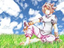 Wallpaper/fond d'écran Elemental Gerad / Erementar Gerad (Shōnen)