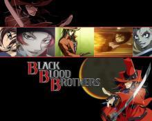 Wallpaper/fond d'écran Black Blood Brothers / Black Blood Brothers (Animes)