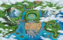 Wallpaper/fond d'écran Pokémon Versions Noir et Blanc /  (Jeux vidéo)