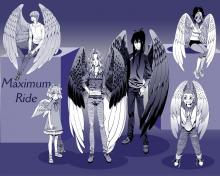 Wallpaper/fond d'écran Maximum Ride / Maximum Ride (Émules)