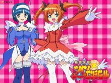 Wallpaper/fond d'écran Kaito Tenshi Twin Angel: Kyun Kyun Tokimeki Paradise!! / Kaito Tenshi Twin Angel: Kyun Kyun Tokimeki Paradise!! (Animes)