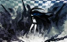 Wallpaper/fond d'écran Black★Rock Shooter / Black★Rock Shooter (OAV)