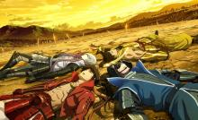 Wallpaper/fond d'écran Sengoku Basara - The Last Party / Gekijouban Sengoku Basara: The Last Party (Films d'animation)
