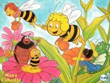 Wallpaper/fond d'écran Maya l'abeille / Mitsubachi Maya No Bôken/Shin Maya No Bôken (Animes)