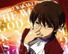 Wallpaper/fond d'écran Que sa volonté soit faite / Kami nomi zo Shiru Sekai (Animes)