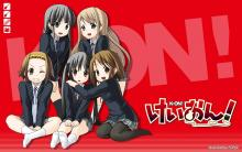 Wallpaper/fond d'écran K-ON! / K-ON! (Animes)