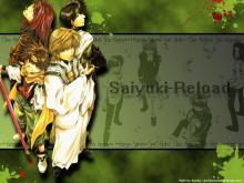 Wallpaper/fond d'écran Saiyuki Reload / Saiyuki Reload (最遊記RELOAD) (Josei)