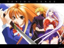 Wallpaper/fond d'écran Enfer et Paradis / Tenjou Tenge (Animes)