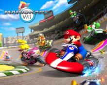 Wallpaper/fond d'écran Mario Kart Wii /  (Jeux vidéo)