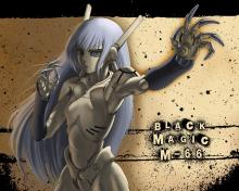 Wallpaper/fond d'écran Black Magic M-66 / Black Magic Marionette-66 (OAV)