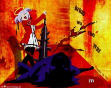 Wallpaper/fond d'écran Bokusatsu Tenshi Dokuro-chan / Bokusatsu Tenshi Dokuro-chan (OAV)