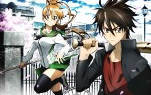 Wallpaper/fond d'écran Highschool of the Dead / Highschool of the Dead (Animes)