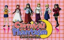 Wallpaper/fond d'écran Carnival Phantasm / Carnival Phantasm (OAV)