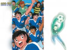 Wallpaper/fond d'écran Olive et Tom / Captain Tsubasa (Animes)