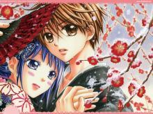 Wallpaper/fond d'écran Scarlet Fan - A Horror Love Romance / Ayakashi Hisen (あやかし緋扇) (Shōjo)