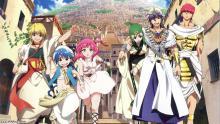 Wallpaper/fond d'écran Magi, The Labyrinth of Magic / Magi - The Labyrinth of Magic (Animes)