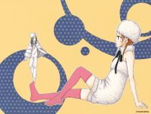 Wallpaper/fond d'écran Parapal / Para Paru (Parasite Pals) (Shōjo)