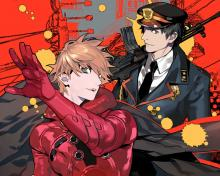 Wallpaper/fond d'écran Samurai Flamenco / Samurai Flamenco (Samumenco) (Animes)