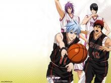 Wallpaper/fond d'écran Kuroko's Basket / Kuroko no Basuke (黒子のバスケ) - The Basketball which Kuroko plays. (Animes)