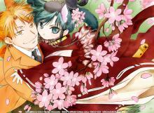 Wallpaper/fond d'écran Maiden Rose / Hyakujitsu no Bara (Yaoi/Yuri)