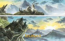 Wallpaper/fond d'écran Légende des Nuées Écarlates (La) - Izunas / La Légende des Nuées Écarlates - Izunas (Émules)