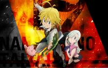 Wallpaper/fond d'écran Seven Deadly Sins (The) / Nanatsu no Taizai - The Seven Deadly Sins (Animes)