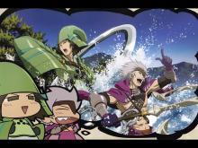 Wallpaper/fond d'écran Mini Sengoku Basara / Mini Sengoku Basara (ミニ戦国BASARA) (OAV)