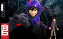 Wallpaper/fond d'écran Nouveaux Héros (Les) / Big Hero 6 (Films d'animation)