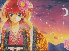 Wallpaper/fond d'écran Yona, Princesse de l'Aube / Akatsuki no Yona (晨曦公主) - Yona, The girl standing in the blush of dawn (Shōjo)