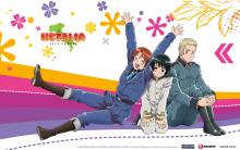Wallpaper/fond d'écran Hetalia - Axis Powers / Hetalia - Axis Powers (ヘタリア Axis Powers) (Animes)