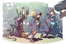 Wallpaper/fond d'écran Little Witch Academia / Little Witch Academia (リトル ウィッチ アカデミア) (Films d'animation)