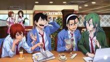 Wallpaper/fond d'écran En selle, Sakamichi! / Yowamushi Pedal (弱虫ペダル) (Animes)