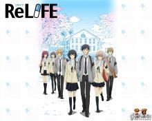 Wallpaper/fond d'écran ReLIFE / ReLIFE (Animes)