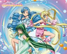 Wallpaper/fond d'écran Pichi Pichi Pitch : la Mélodie des Sirènes / Mermaid Melody Pichi Pichi Pitchi (Animes)