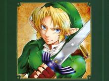 Wallpaper/fond d'écran Zelda (the Legend of) - Ocarina of Time / Zelda no Densetsu - Toki no Ocarina (Shōnen)