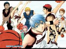 Wallpaper/fond d'écran Kuroko's Basket / Kuroko no Basuke (黒子のバスケ) (Shōnen)