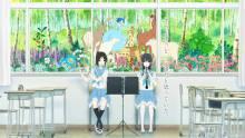 Wallpaper/fond d'écran Liz et l'oiseau bleu / Liz to aoi tori (リズと青い鳥) (Films d'animation)
