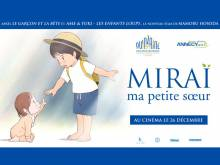 Wallpaper/fond d'écran Miraï, ma petite sœur / Mirai no Mirai (未来のミライ) (Films d'animation)